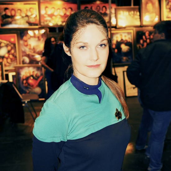 Voyager cosplay @ Destination Star Trek Germany 2014