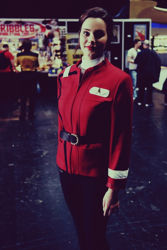 Star Trek admiral uniform @ Destination Star Trek Germany 2014
