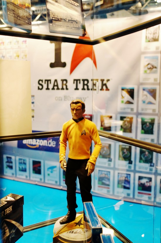 Captain Kirk figure @ Destination Star Trek Germany Convention