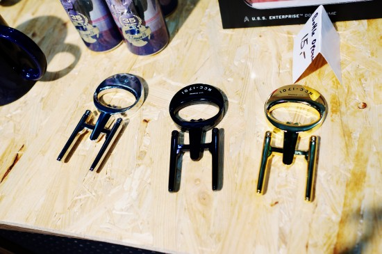 Enterprise NCC-1701 bottle openers @ Destination Star Trek Germany Convention