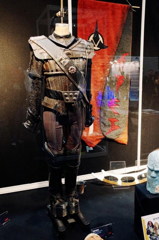 Original Klingon uniform @ Martin Netter's Filmwelt Museum @ Destination Star Trek Germany Convention