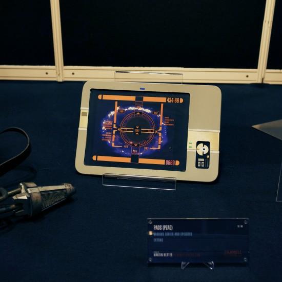 Original Star Trek Pad @ Martin Netter's Filmwelt Museum @ Destination Star Trek Germany Convention