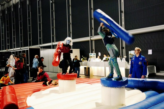 Playground for young Trekkies :P @ Destination Star Trek Germany Convention