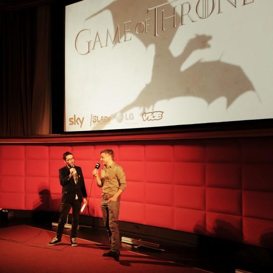 Tom Wlaschiha aka Jaqen H'ghar @ Game of Thrones Sky Night