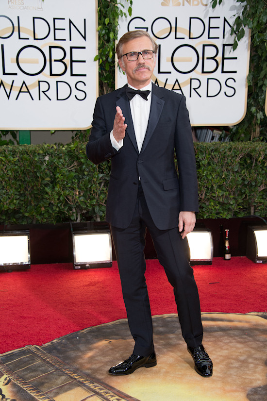 Christoph Waltz @ Golden Globes 2014