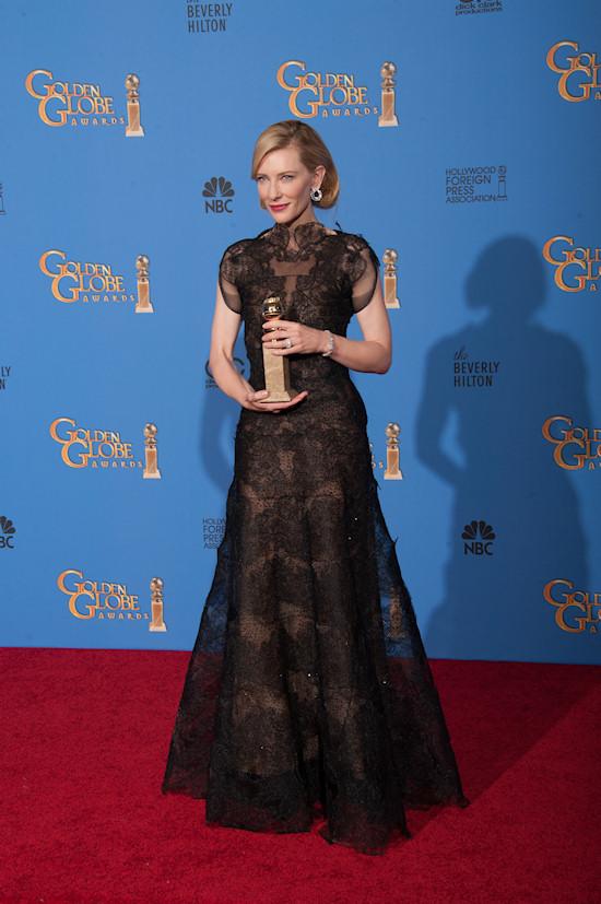 Cate Blanchett @ Golden Globes 2014