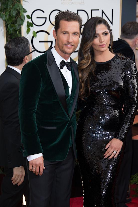 Matthew McConaughey @ Golden Globes 2014