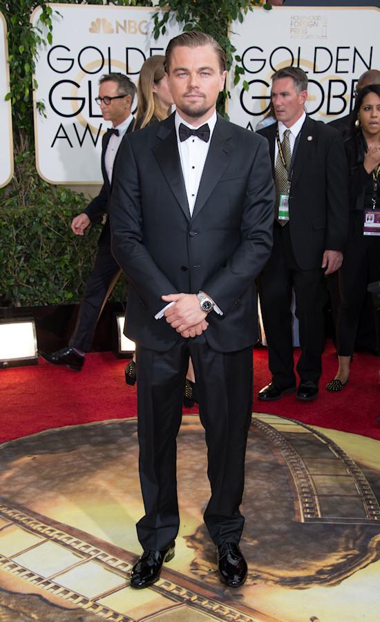 Leonardo DiCaprio @ Golden Globes 2014