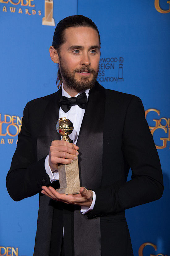 Jared Leto @ Golden Globes 2014