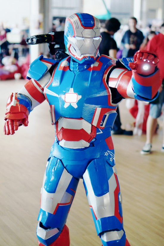 Iron Man Cosplay by Martin Ziman @ Comics Salón 2014 Bratislava