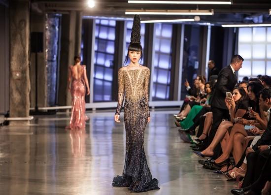 Ziad Nakad Fashion Show @ One World Trade Center