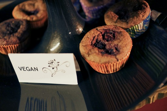 Vegan muffins @ Lani's Rock'n Vintage Fashion Swap Linz