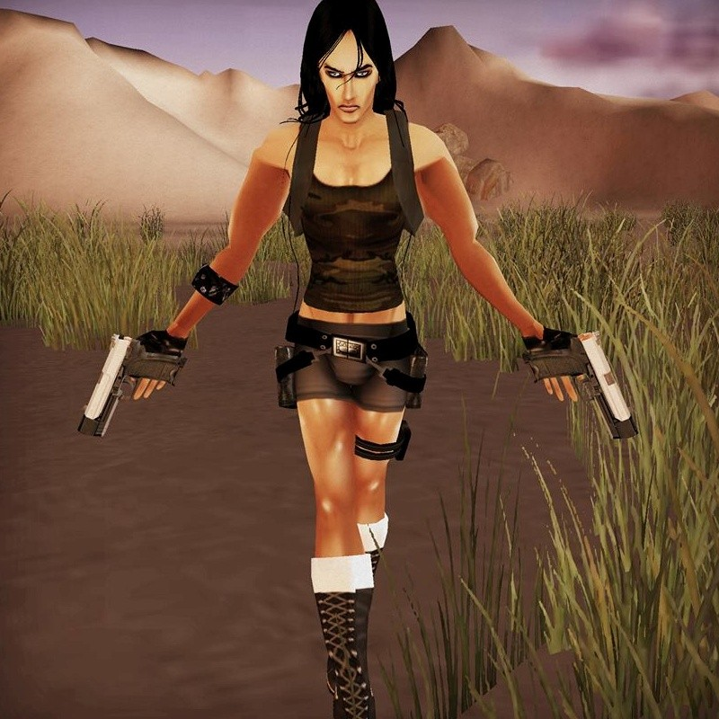 Final, sorry, Lara croft game character nude was