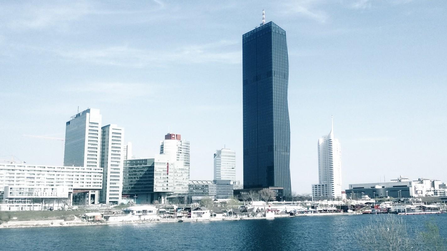 dc tower 1  vienna u0026 39 s highest level