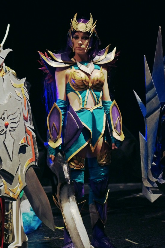 Diana, League of Legends Cosplay @ Comics Salon 2014