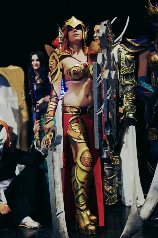 Leona, League of Legends Cosplay @ Comics Salon 2014