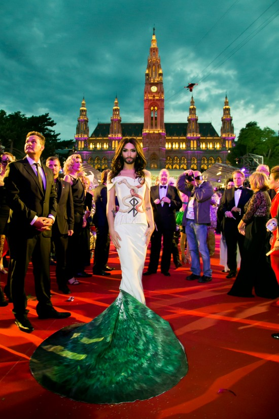 Conchita Wurst @ Life Ball 2014