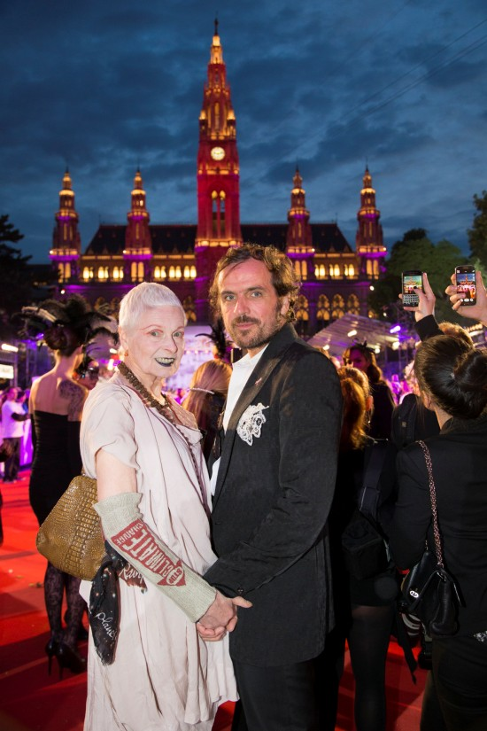 Vivienne Westwood and Andreas Kronthaler @ Life Ball 2014
