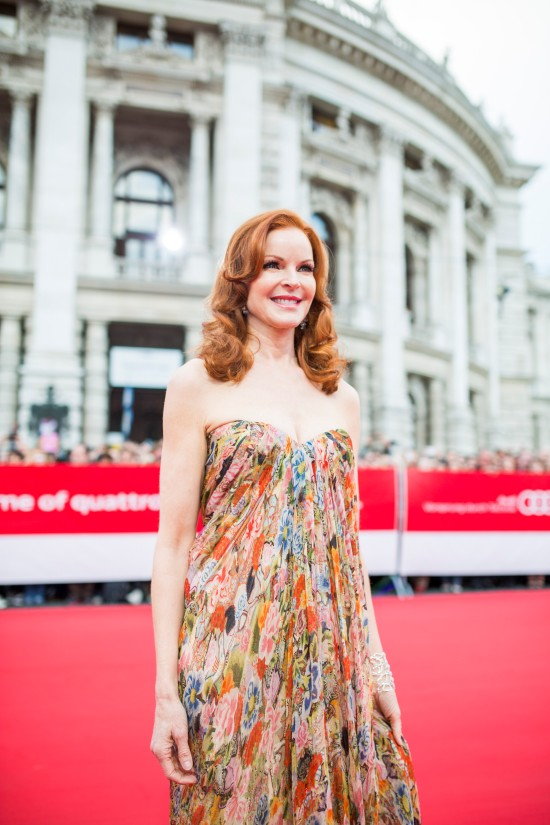 Marcia Cross @ Life Ball 2014
