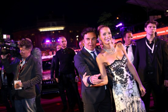 David LaChapelle and Carmen Carrera @ Life Ball 2014