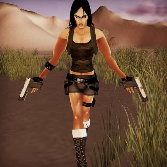 Male Lara Croft: Tomb Mister Raider