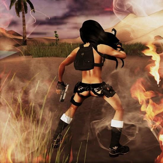 Male Nude Lara Croft: Mister Tomb Raider