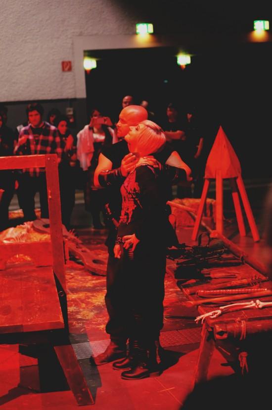Medieval Torture Show. Die Henker @ Mittelalterspektakel 2014 St. Pölten