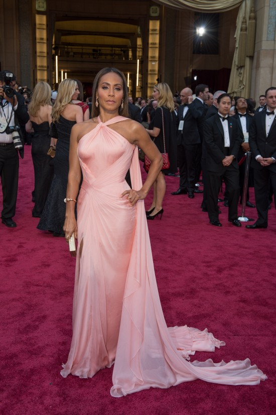 Jada Pinkett Smith in Versace @ Oscars 2014