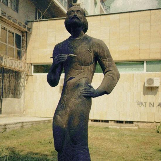 "Painter sculpture @ Ruse Art Gallery ""Художествена галерия Русе"""