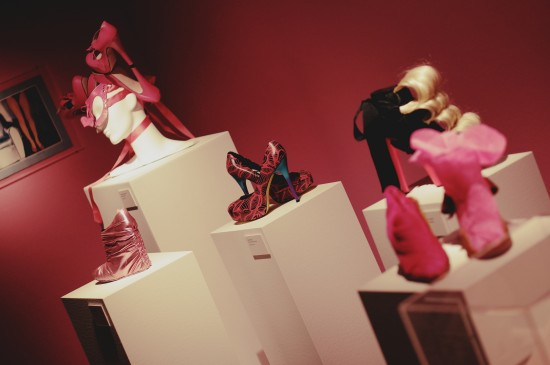 Fashion victims shoes @ SHOEting Stars shoe exhibition Kunst Haus Wien