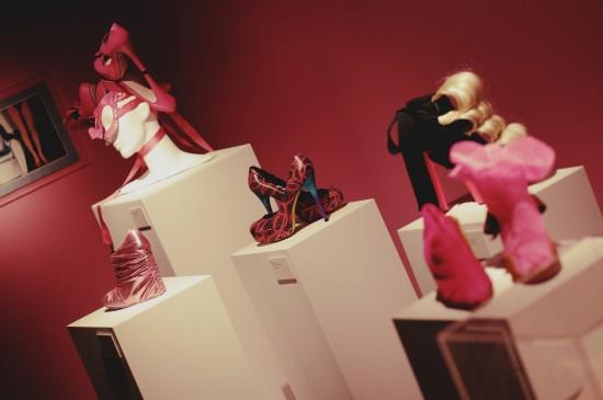 Fashion victims shoes @ SHOEting Stars shoe exhibition Kunst Haus Wien
