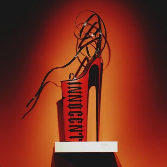 "Innocent ""Like a virgin"" heels @ SHOEting Stars shoe exhibition Kunst Haus Wien"