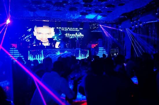 Inside SHOWROOM XS Beach Club Ruse, Bulgaria
