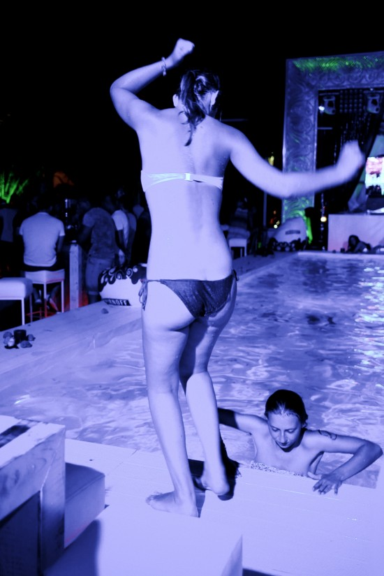 Swimming Pool @ SHOWROOM XS Beach Club Ruse, Bulgaria