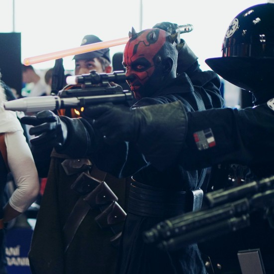 Star Wars Darth Maul cosplay @ Comics Salon 2014