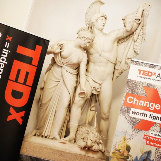 TEDxAmRing conference Change Worth Fighting For on May 30th 2014 @ Vienna Hofburg