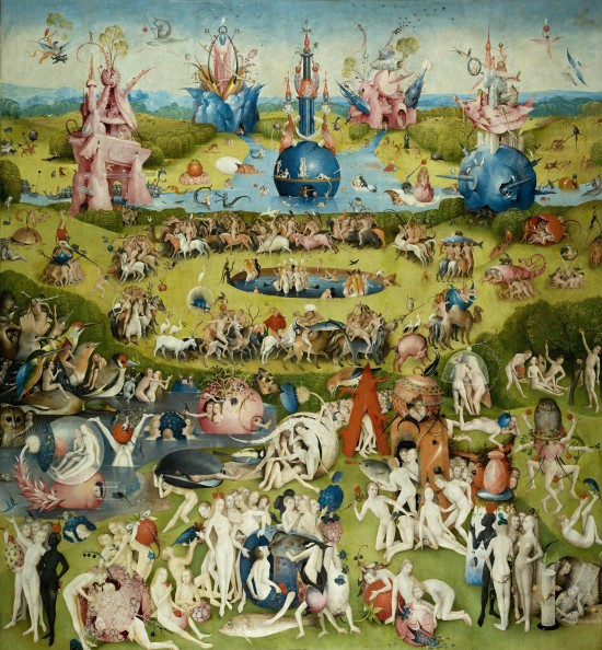 The Garden of Earthly Delights by Hieronymus Bosch: Central Panel
