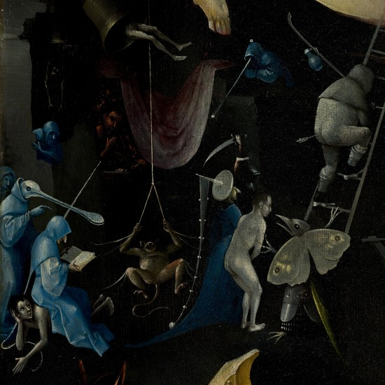 The Garden of Earthly Delights by Hieronymus Bosch: Hellscape and Divine Punishment, nudes and witches