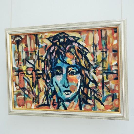 "Painting Blue bungee ""синьото бънджи"" by Десо Замора"