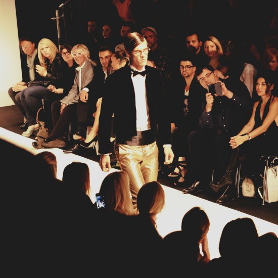 Tiberius Fashion Show Structure @ MQ Vienna Fashion Week 2014