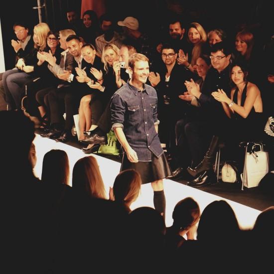 Tiberius designer Marcos Valenzuela @ MQ Vienna Fashion Week 2014