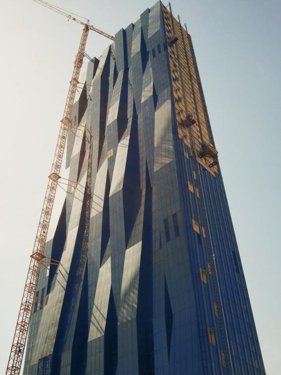 Vienna DC Tower 1 Construction @ Wien DonauCity