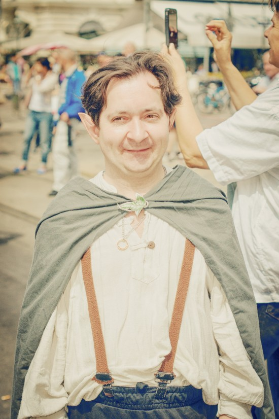 Hobbit @ Vienna Pride 2014 / Regenbogenparade Wien