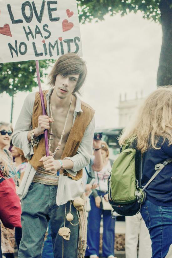 Love has no limits @ Vienna Pride 2014 / Regenbogenparade Wien