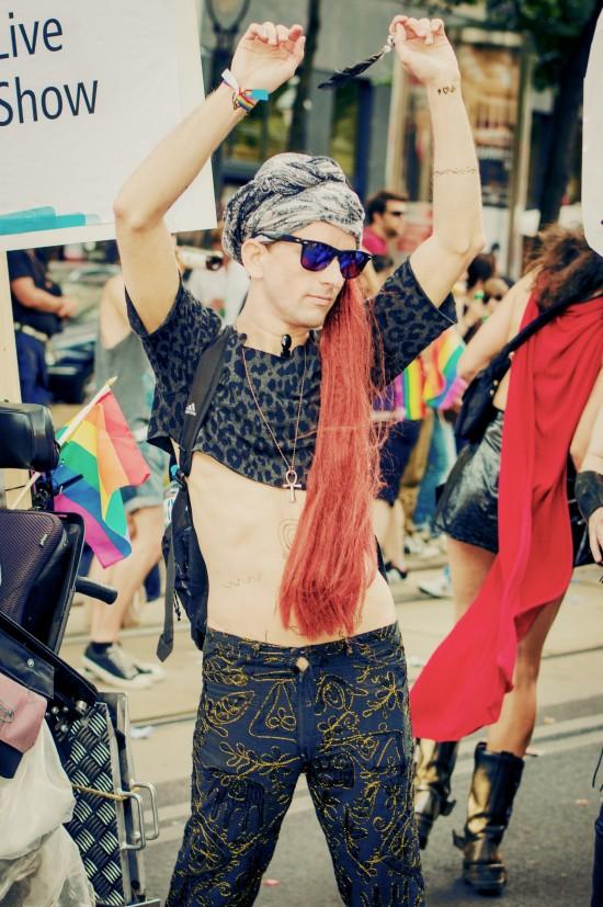 Fashion @ Vienna Pride 2014 / Regenbogenparade Wien