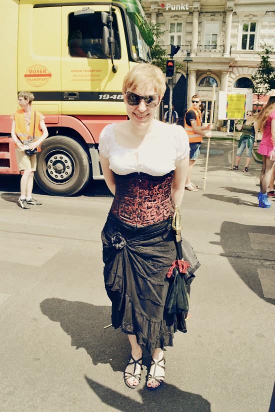Pirate @ Vienna Pride 2014 / Regenbogenparade Wien