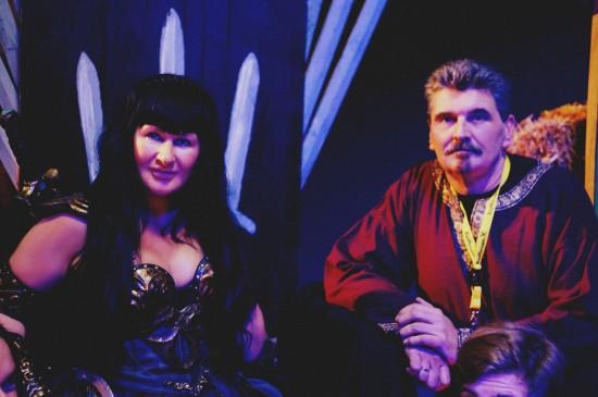 Xena and Georg Ragyoczy @ Mittelalterspektakel 2014 VAZ St. Pölten