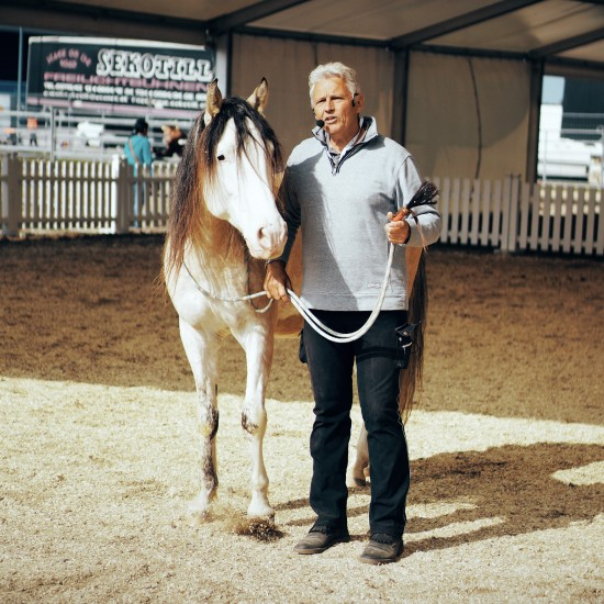 Horse therapist and trainer Peter Daxer @ Apropos Pferd Horse Fair Arena Nova