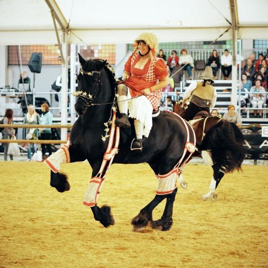 Side saddle fun with Zenzi and Lois @ Apropos Pferd Horse Fair Arena Nova