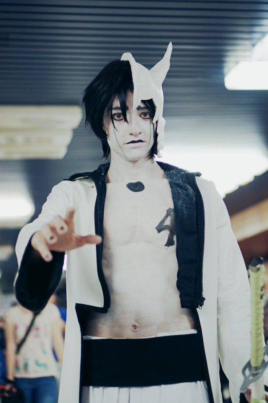 Ulquiorra Cifer from Bleach @ Comics Salon 2014 Cosplay